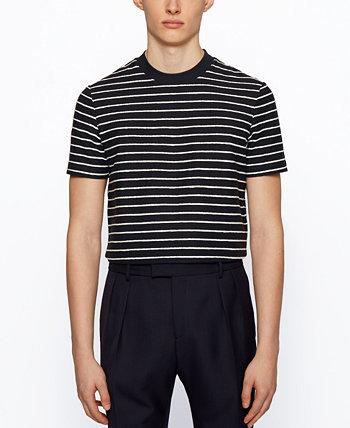 Мужская футболка стандартного кроя BOSS BOSS Hugo Boss