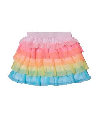 Многослойная юбка Little Girls Rainbow Epic Threads