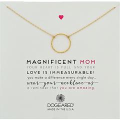 """Великолепная мама, ожерелье """"Маленькая искорка кармы"""" Dogeared"""