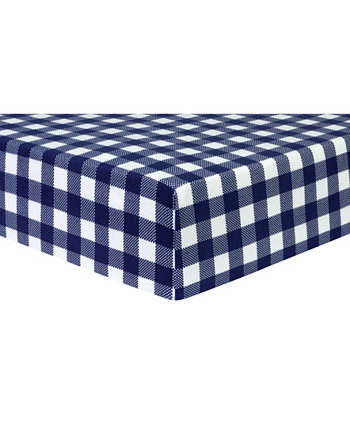 Лист для детской кроватки Cheffal Check Trend Lab