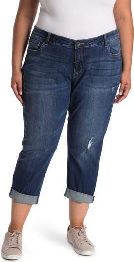 Укороченные джинсы-бойфренды KUT from the Kloth