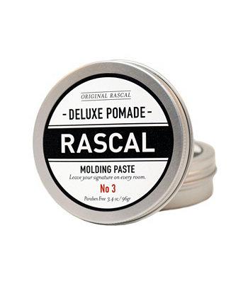 Deluxe Pomade 3, Литьевая паста с натуральным эффектом удержания, 3,4 унции Rascal