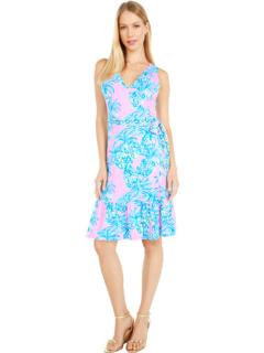 Платье без рукавов Misha Wrap Lilly Pulitzer