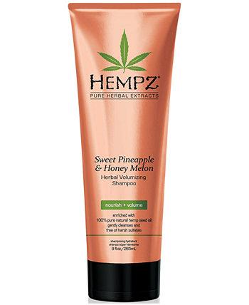 Sweet Pineapple & Honey Melon Volumizing Shampoo, 9-oz., from PUREBEAUTY Salon & Spa Hempz