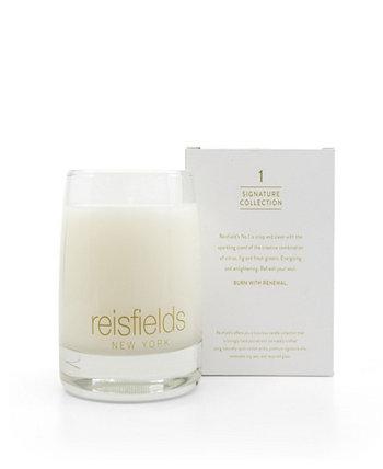 Classic Collection No. 1 Роскошная соевая свеча ручной заливки Reisfields NYC