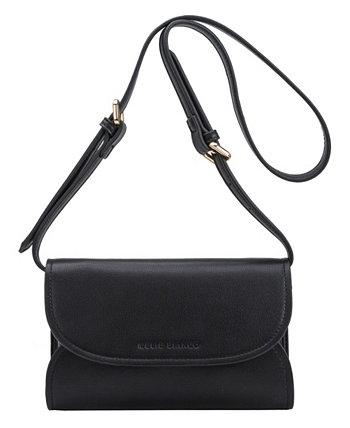 Маленькая поясная сумка-трансформер женская Cleo Melie Bianco