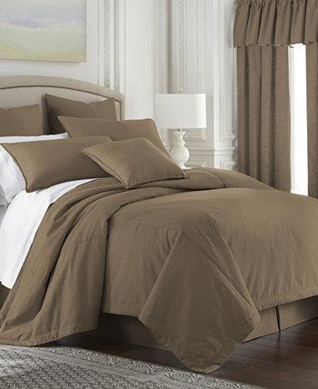 Утешитель из орехового дерева Кембрик с двумя односпальными кроватями Colcha Linens