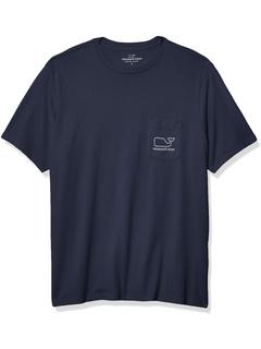 Винтажная футболка с китовым карманом и короткими рукавами Big and Tall Vineyard Vines