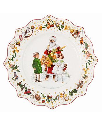 Ежегодная рождественская тарелка с салатом 2021 Villeroy & Boch