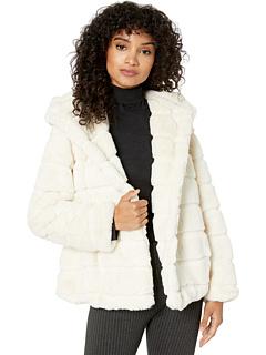 Пальто Goldie 3 с капюшоном из искусственного меха APPARIS