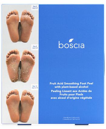 Фруктовый пилинг для ног Boscia