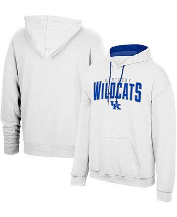 Толстовка с капюшоном мужская белая Kentucky Wildcats Foundation Mascot 3.0 Top of the World