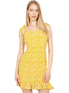 Платье Ditsy с оборкой по краю Bardot