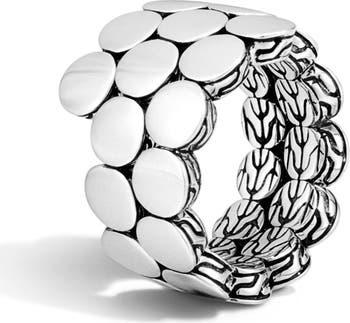 Кольцо с двойной спиралью 'Dot' JOHN HARDY