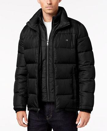 Мужское пуховик на молнии, созданный для Macy's Calvin Klein
