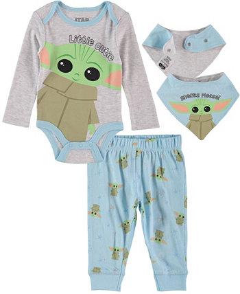 Комплект Baby Boys Baby Yoda, 3 предмета HAPPY THREADS