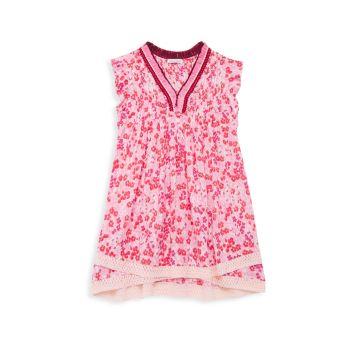 Маленькая девочка & amp; Платье Саши для девочек Poupette St Barth