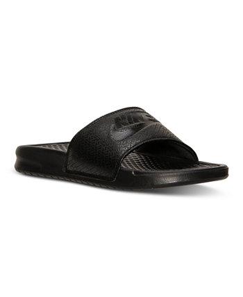 Мужские сандалии без шнуровки Benassi Just Do It от Finish Line Nike