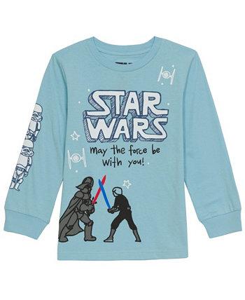 Toddler Boys Star Wars Battle T-shirt Hybrid