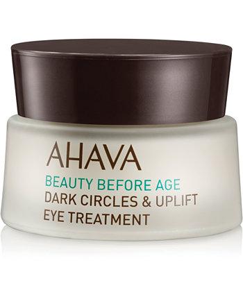Beauty Before Age Dark Circles & Подтягивающая процедура для глаз, 0,51 унции. AHAVA