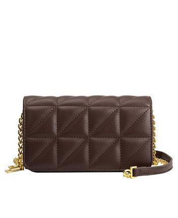 Маленькая сумка через плечо Brianna из веганской кожи Melie Bianco