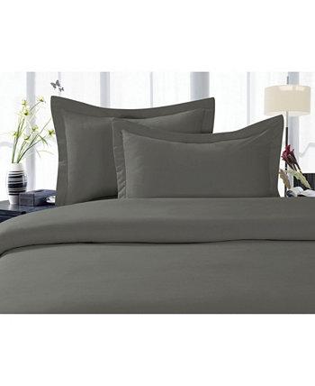 Роскошный шелковистый - двухкомпонентный комплект пододеяльников с мягкими морщинами, Twin / Twin XL Elegant Comfort