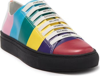 The Firework Sunset Colorblock Sneaker Katy Perry