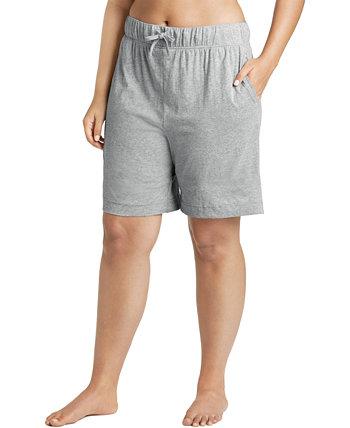 Хлопковые шорты-бермуды большого размера Jockey