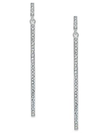 INC Pavé © Stick Линейные серьги-капли, созданные для Macy's INC International Concepts