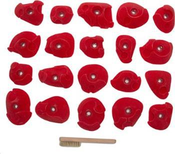 Плагины для скалолазания Drop Art - набор из 20 шт. EGrips