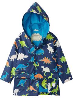 Linework Dinos Colour Changing Raincoat (Toddler/Little Kids/Big Kids) Hatley Kids