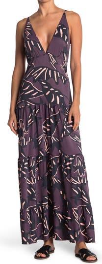Autumn Bird Castle Cover-Up Maxi Dress Maaji