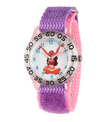 Часы из пластика для часов Disney Moana для девочек Ewatchfactory