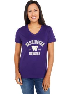 Футболка Washington Huskies University 2.0 с V-образным вырезом Champion College