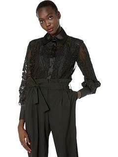 Перешитая кружевная блузка Marchesa