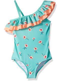 Слитный купальник на одно плечо с цветочными оборками Morgan (для малышей) Kanu Surf