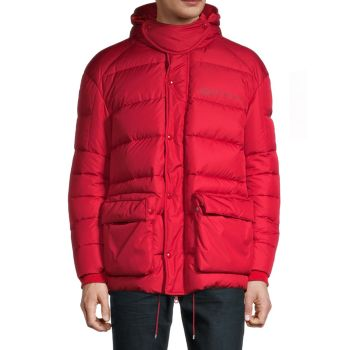 Стеганая куртка с капюшоном Always Graphic Valentino