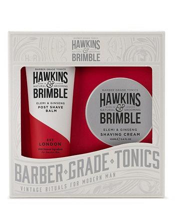 Подарочный набор для бритья из 2 предметов Hawkins & Brimble