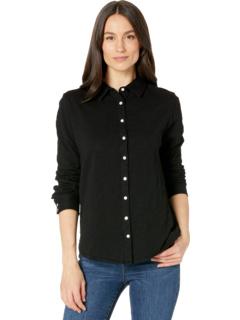 Рубашка на пуговицах из мягкого хлопка с длинным рукавом Dylan by True Grit