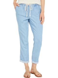 Узкие джинсовые джоггеры до щиколотки Petite Sheri из светлого камня NYDJ Petite
