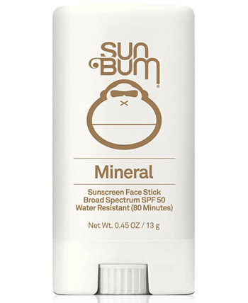 Минеральный солнцезащитный крем для лица SPF 50 Sun Bum