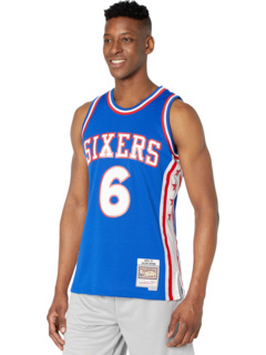 NBA Swingman Jersey 76ers 76 Джулиус Эрвинг Mitchell & Ness