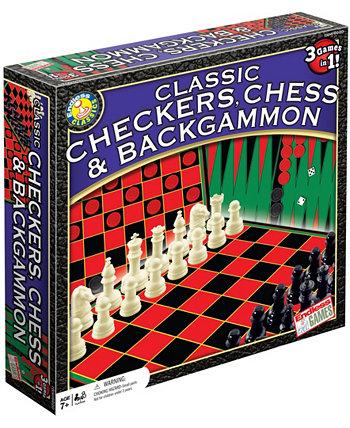 Классические шашки, шахматы и нарды Endless Games