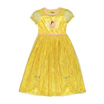 Disney's Belle Girls 6-8 Fantasy Nightgown Licensed Character