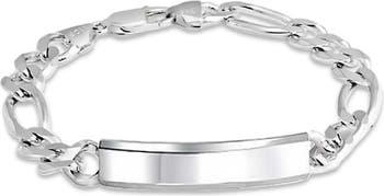 Браслет ID Yourself из стерлингового серебра Bling Jewelry