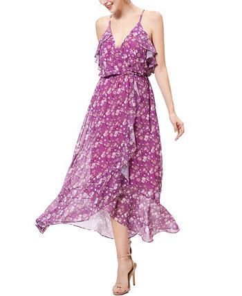 Женское шифоновое платье с цветочным принтом Raeni Kimi + kai