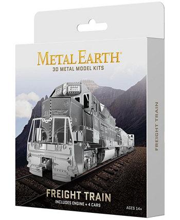 Metal Earth 3D Metal Model Kit - Freight Train Box Set Fascinations