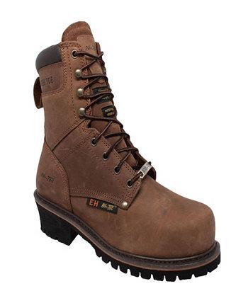 Мужские ботинки Super Logger со стальным носком 9 дюймов AdTec