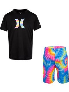 Комплект футболки и плавок UPF 50+ (для маленьких детей) Hurley Kids