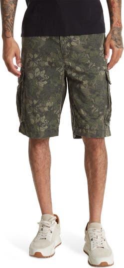 Камуфляжные шорты карго с цветочным принтом Pike UNION DENIM